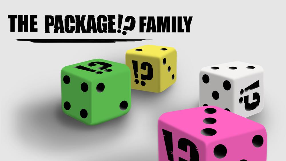 Set of 4 custom dice - Stretch goal number 6!