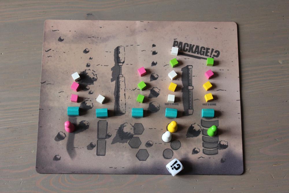 Package!? Playmat and Custom Die