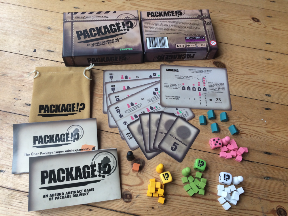 Contents of the full production version of Package!? - Thats a lot of bang for your micro-game buck!