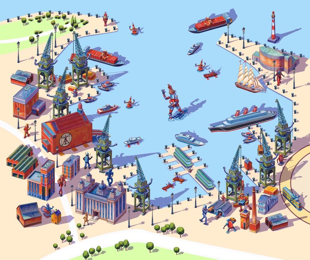 Robot City Docks Tour.jpg