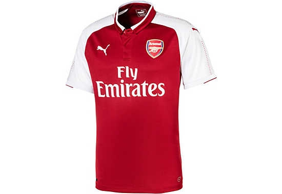 Puma Arsenal Home Jersey 17/18
