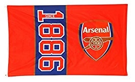 Arsenal Flag Since 1886 5 X 3