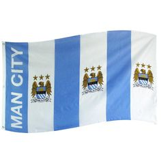 Manchester City Bar Flag 3 X 5