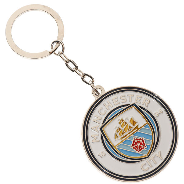 Manchester City Key Ring