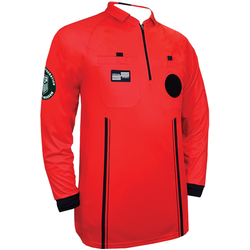 OSI Pro Long Sleeve Jersey- Red
