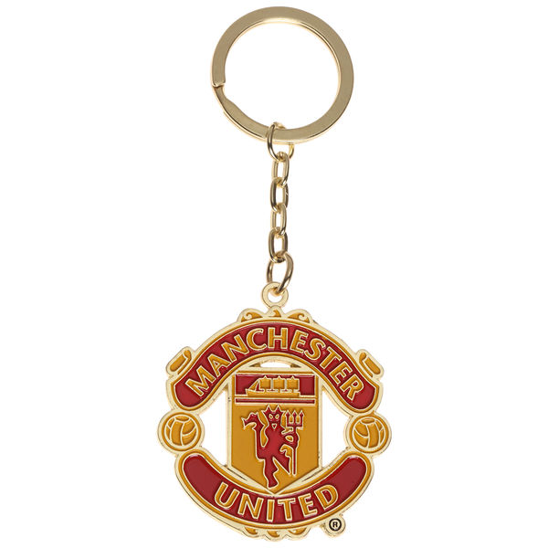 Manchester United Metal Key Ring