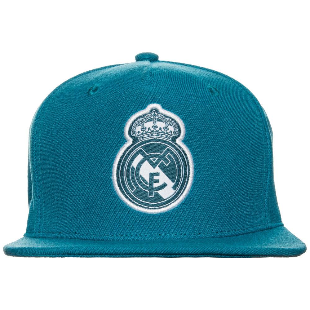 Adidas Real Madrid Flat Brim Snapback Cap