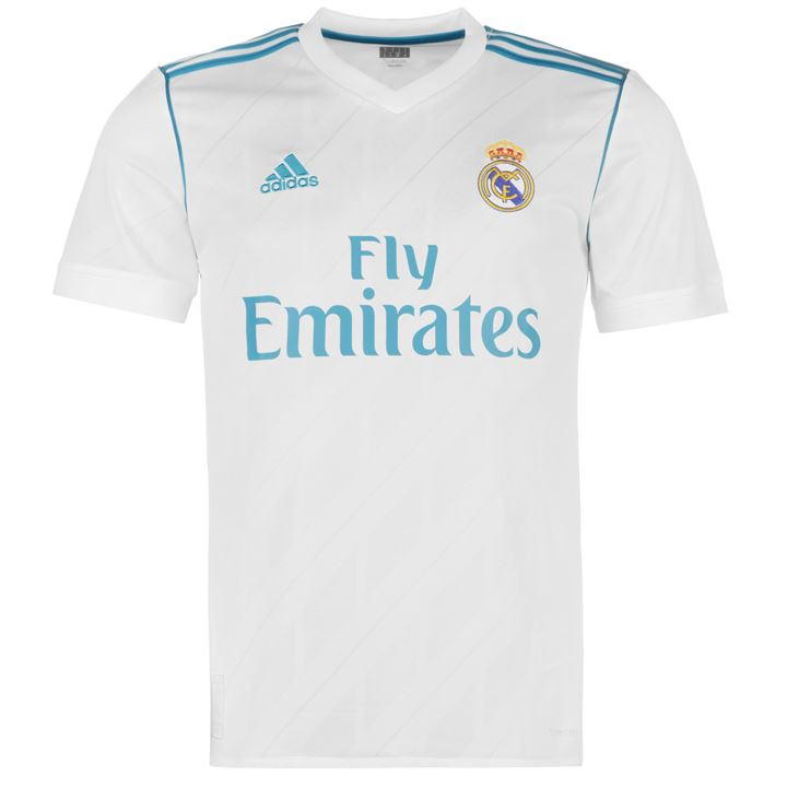 Adidas Real Madrid 17/18 Men's Home Jersey
