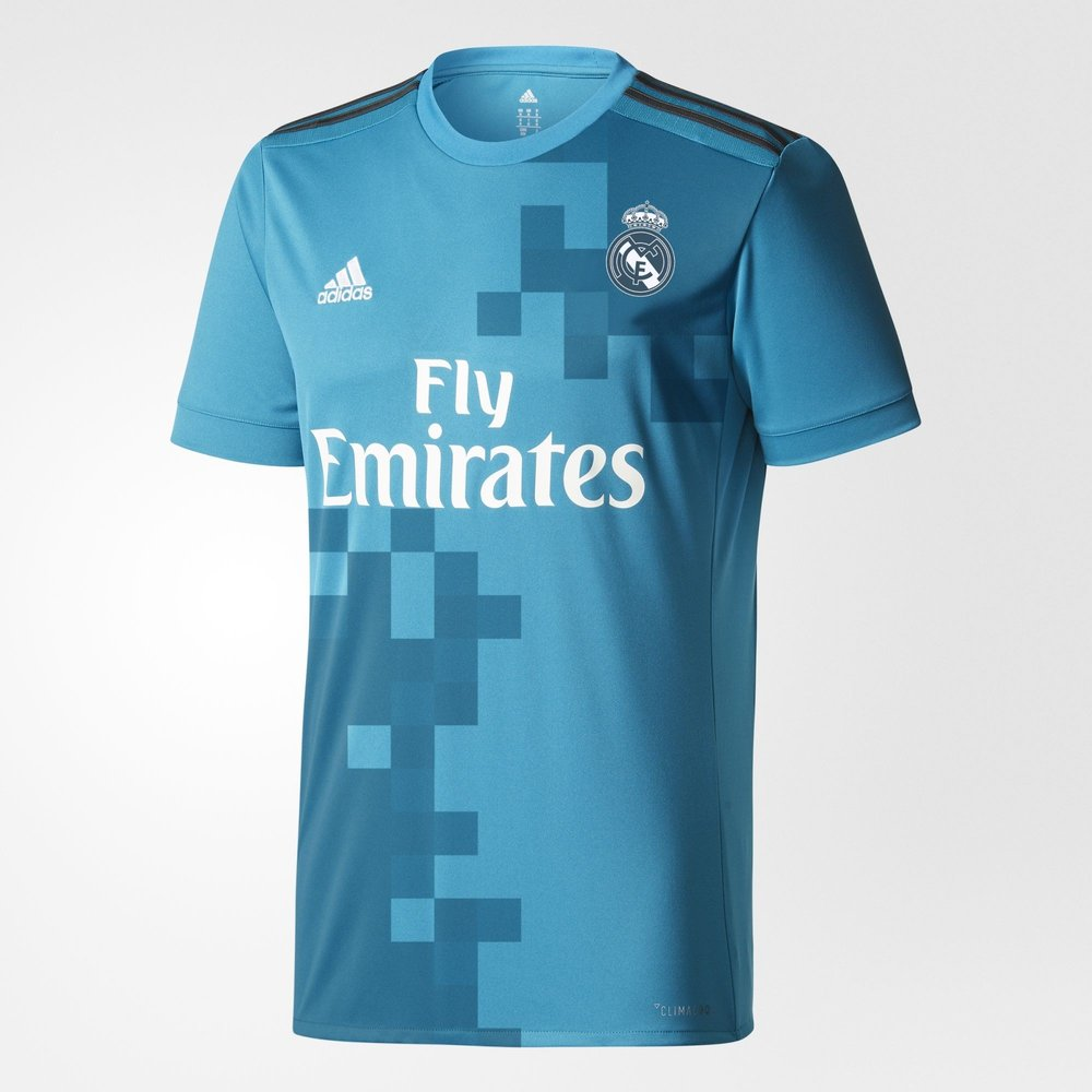 Adidas Real Madrid 17/18 Youth 3rd Jersey