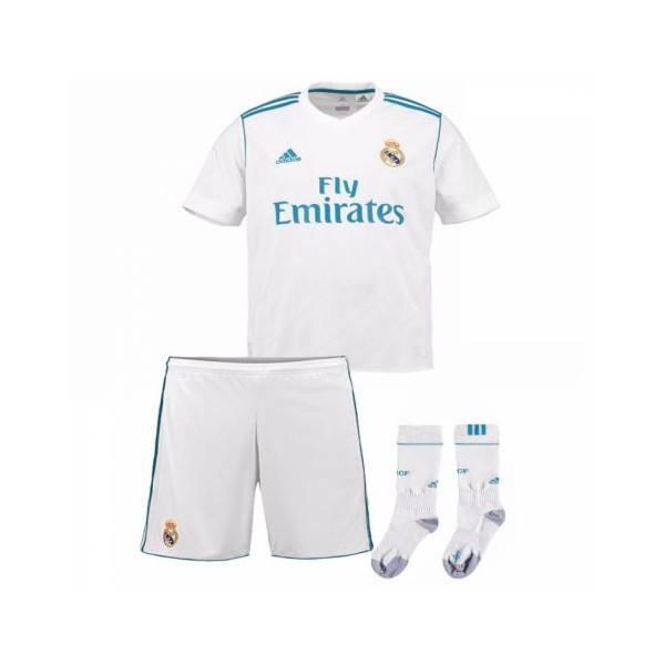 Adidas Real Madrid 17/18 Home Toddler Mini Kit