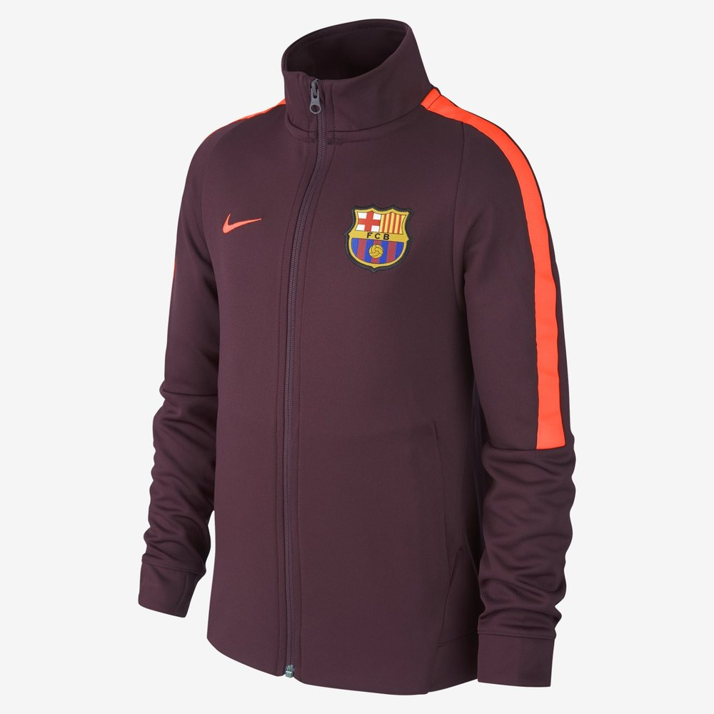 Nike FC Barcelona 17/18 Youth Track Jacket