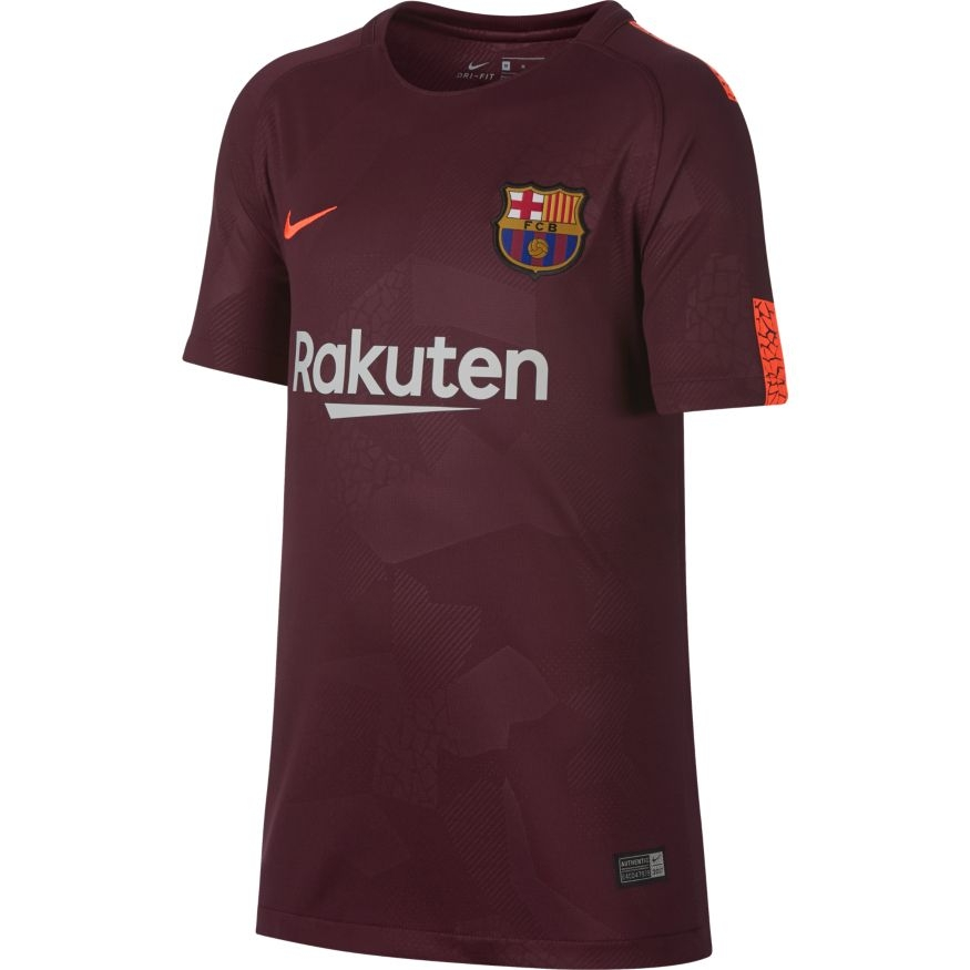 Nike FC Barcelona 17/18 Youth Third Jersey