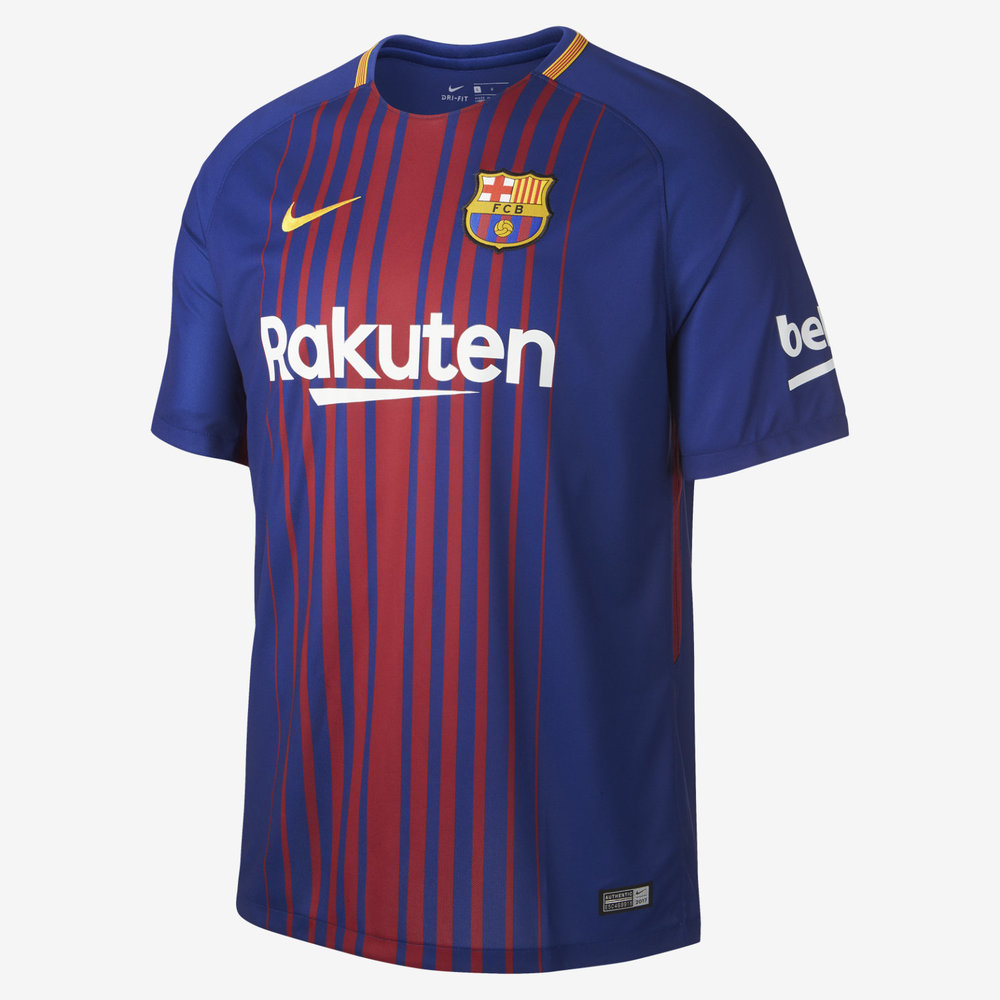 Nike FC Barcelona 17/18 Youth Home Jersey