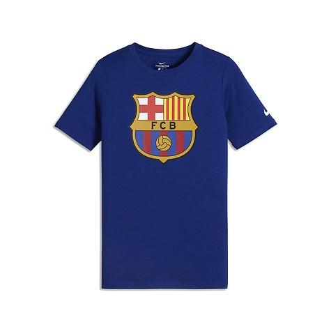 Nike FC Barcelona Men's Crest Tee