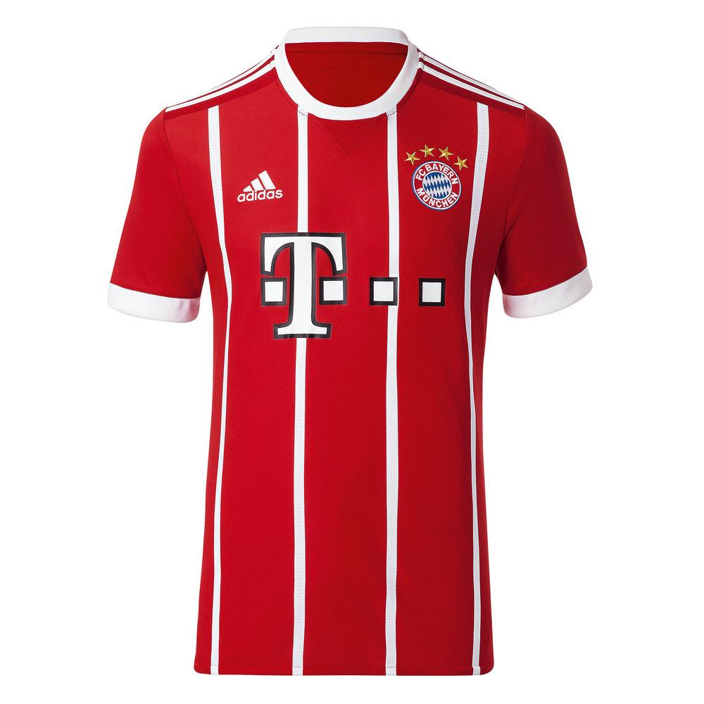 adidas Bayern Munich 17/18 Youth Home Jersey