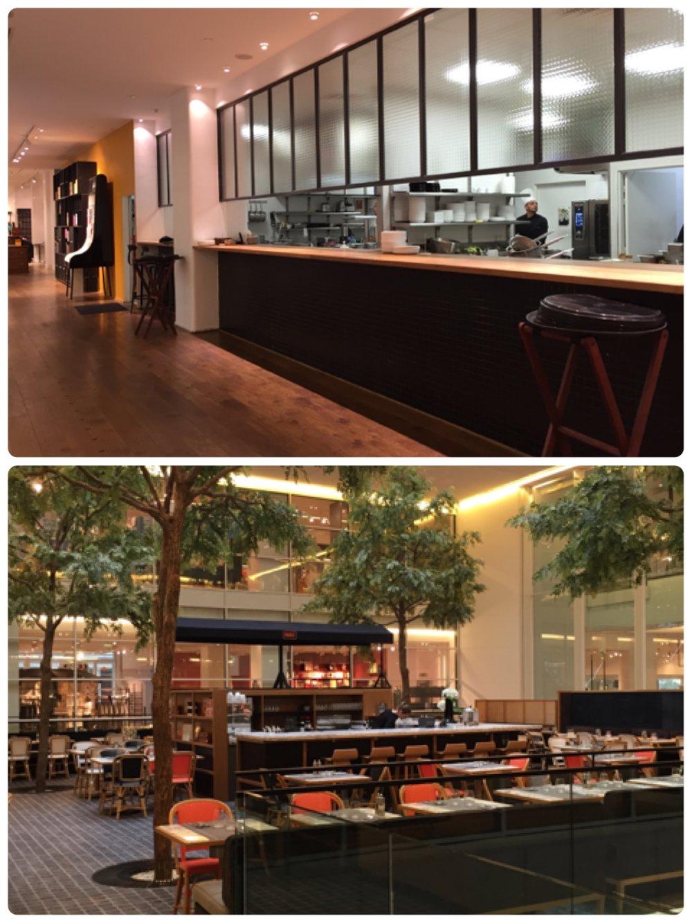 Le Table 是百貨裡面的餐廳