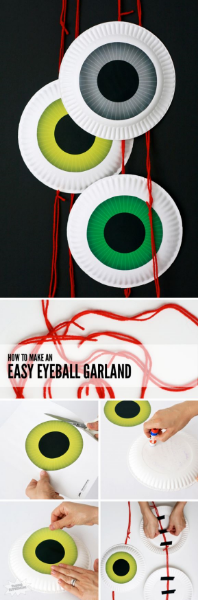 eyeball garland