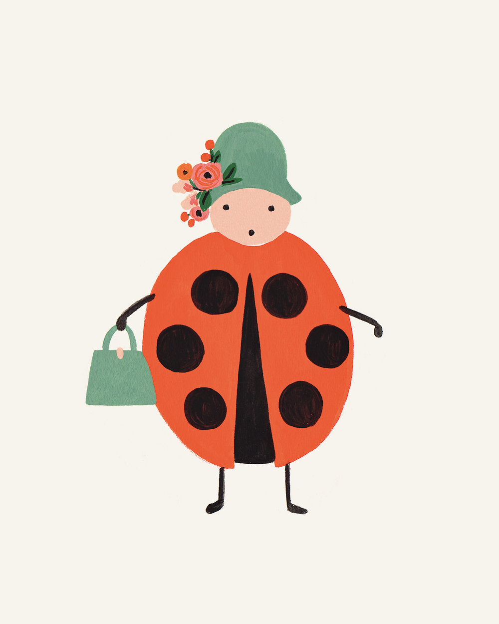 Ladybird print- Rifle paper Co.