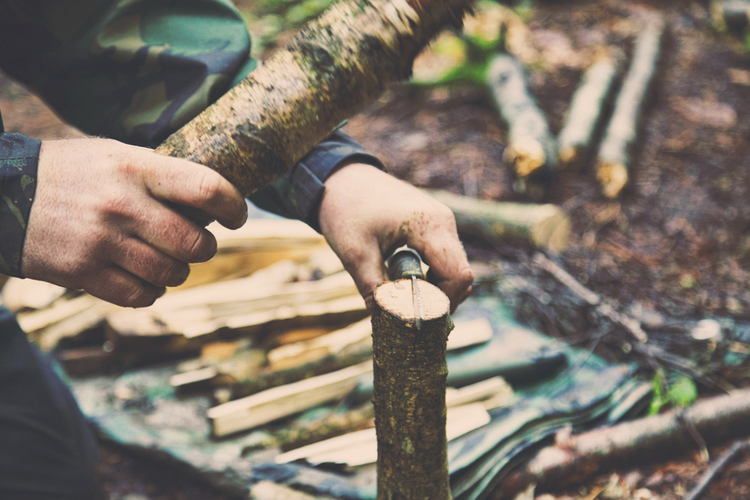 bushcraft courses in dorset