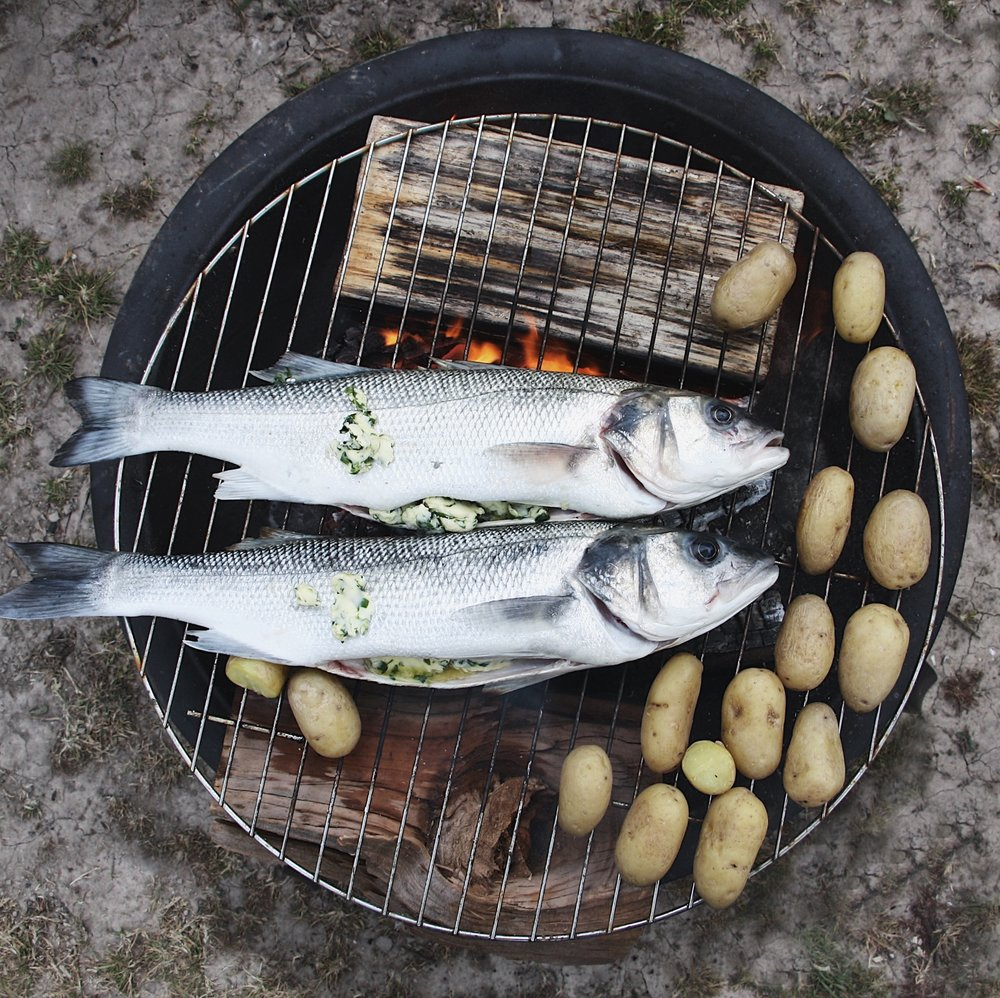 bbq sea bass recipe