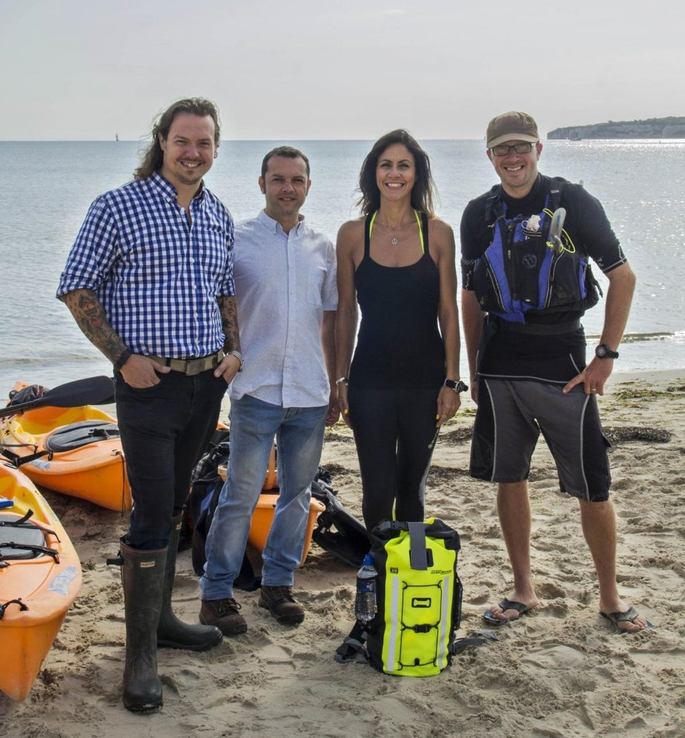 - Watch us kayak fishing & foraging with Julia Bradbury on ITV