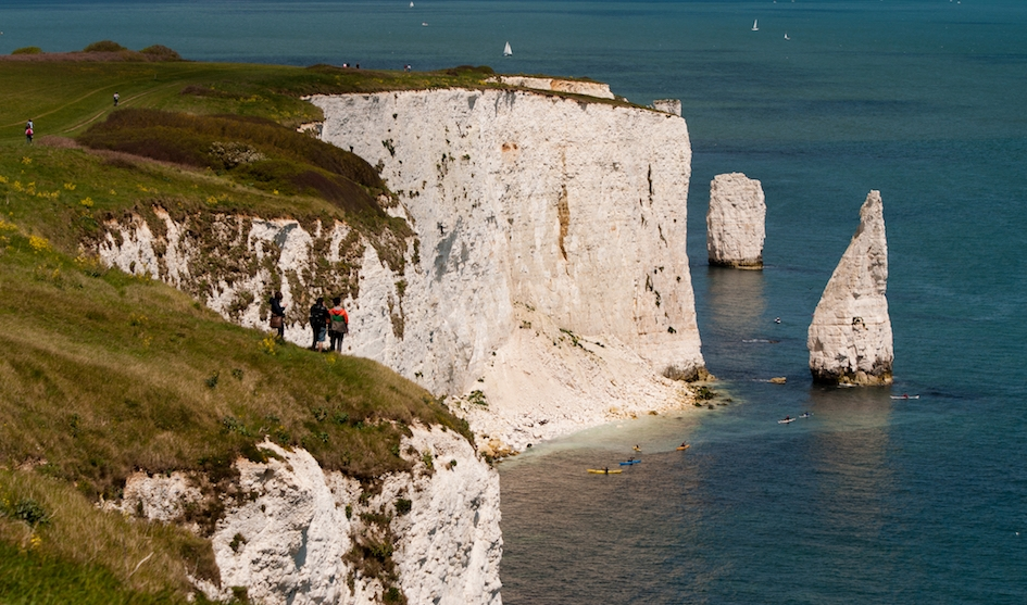 old harry rocks kayaking jobs dorset