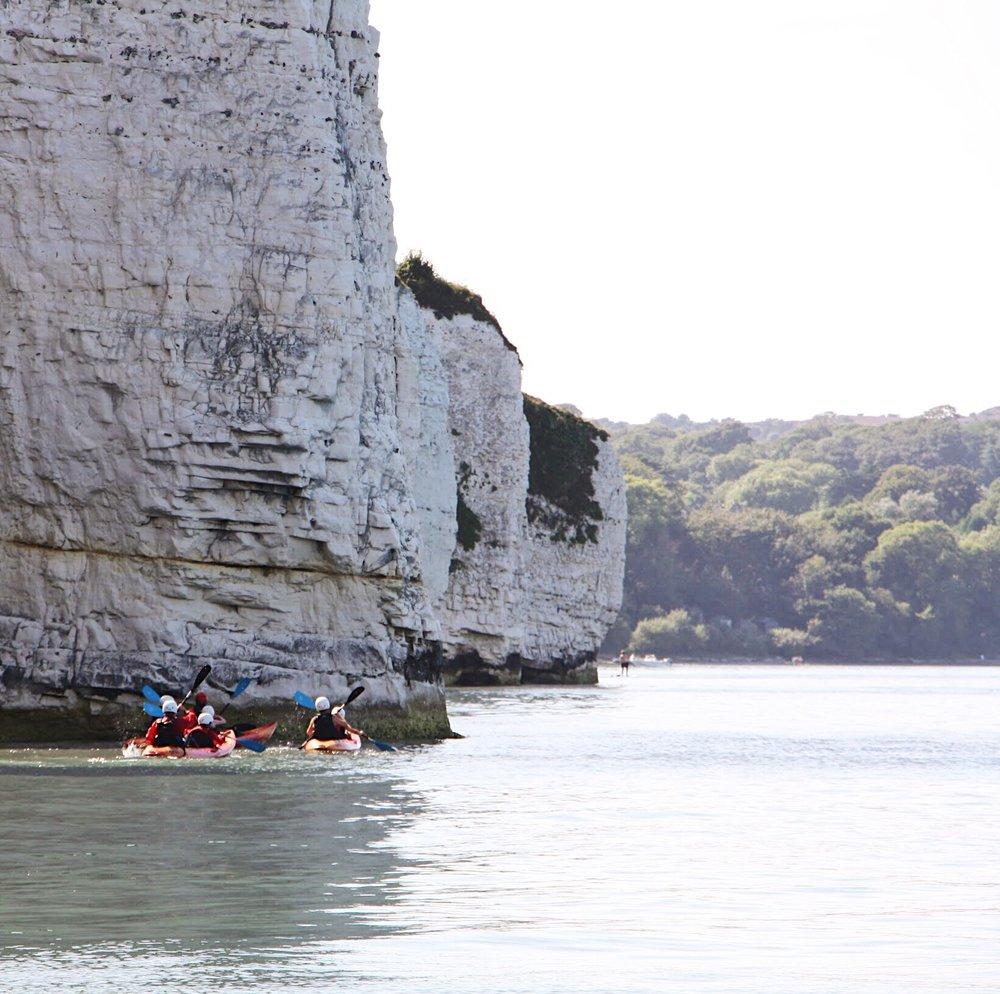 old harry rocks kayaking tours