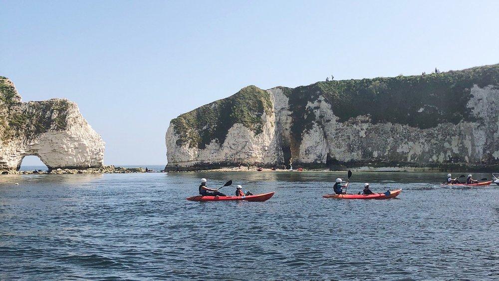 old harry rocks kayaking adventure