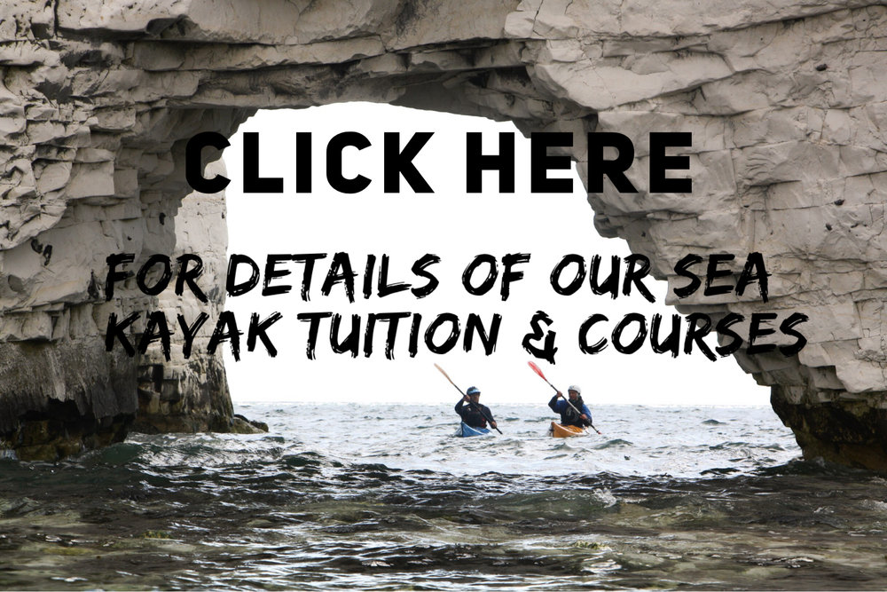 sea kayak tuition and courses in dorset