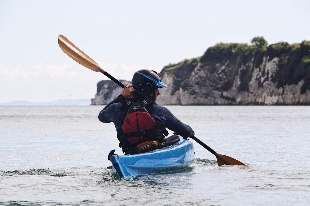 sea kayaking courses in dorset