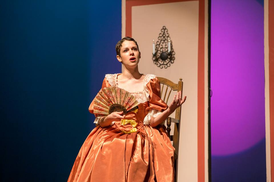 "Performing as Rosina in Opera NOVA's ""Il Barbiere di Siviglia."" (Photo: Paul Schomburg)"