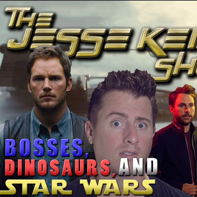 New #Podcast is on #itunes #stitcher #soundcloud #spreaker I #review #HorribleBosses2 #JurassicWorld #StarWars #theForceAwakens #movies Become a @Patreon supporter today! www.thejessekeimshow.com/podcast