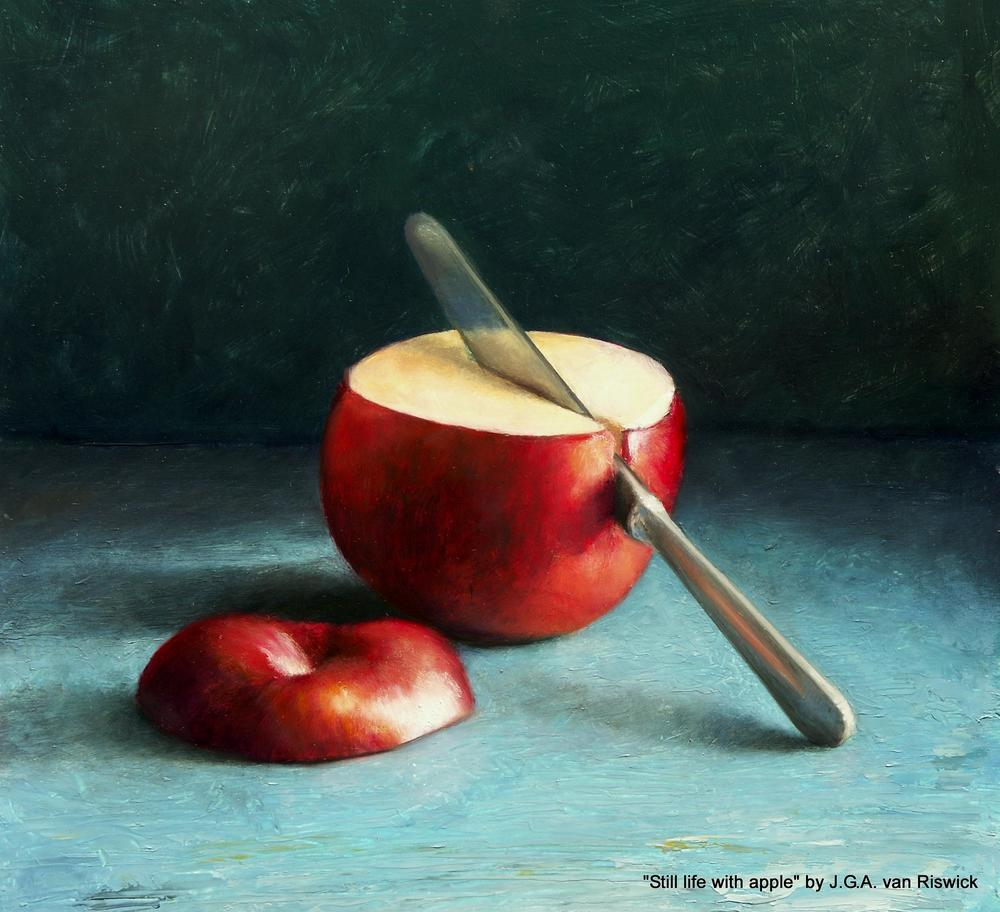 J.G.A. van Riswick - Stilleven met appel.jpg