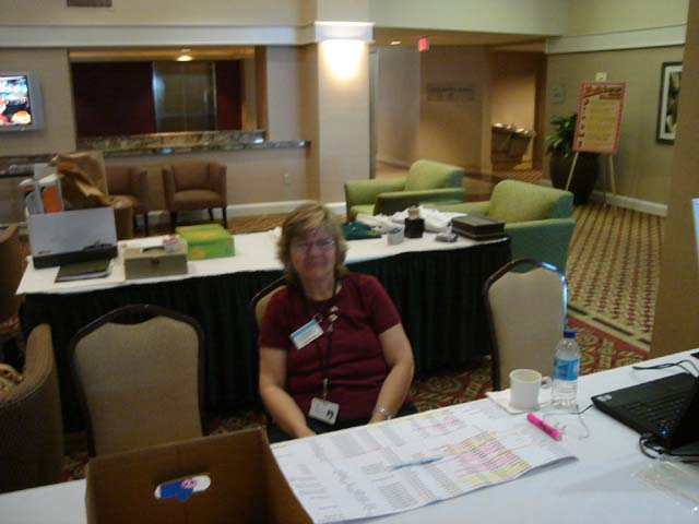 Rosemary Bauman manning the Registration Table.jpg