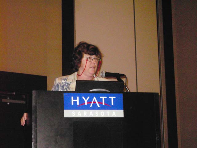 FACM President Kay Gargis Addressing Luncheon Session.jpg
