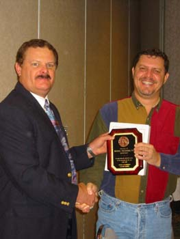 Mike Prestridge receiving Secretarys Award.jpg
