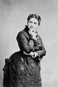Victoria Claflin Woodhull ran for president in 1872, long before women had the right to vote