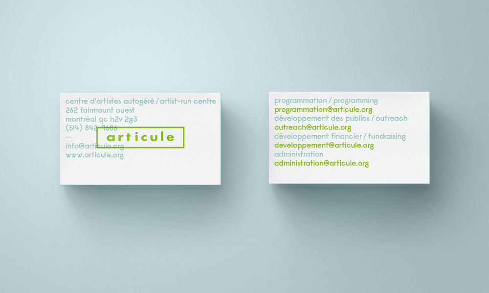 Articule Business Cards — LOKI
