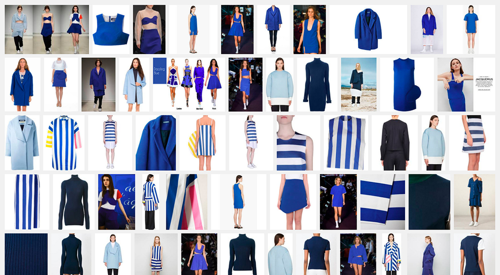 Jacquemus Blue on Google Images