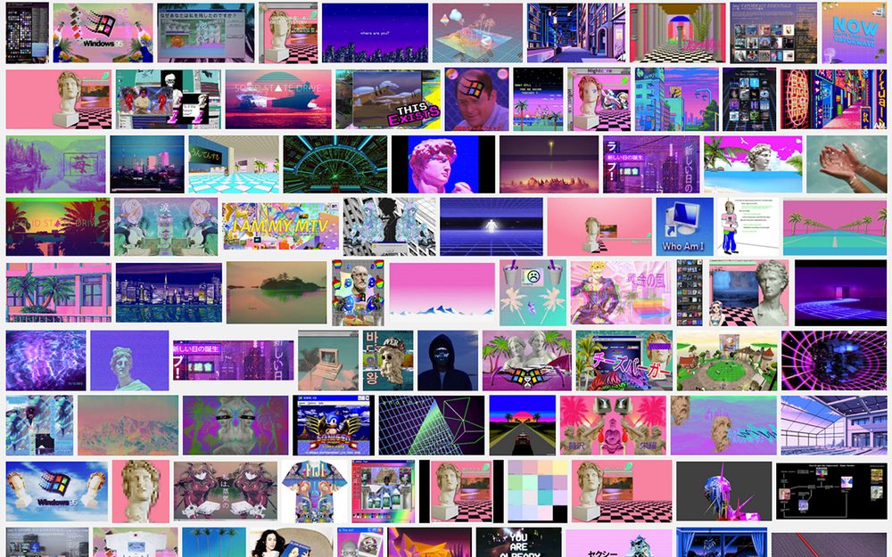 Vaporwave on Google Images