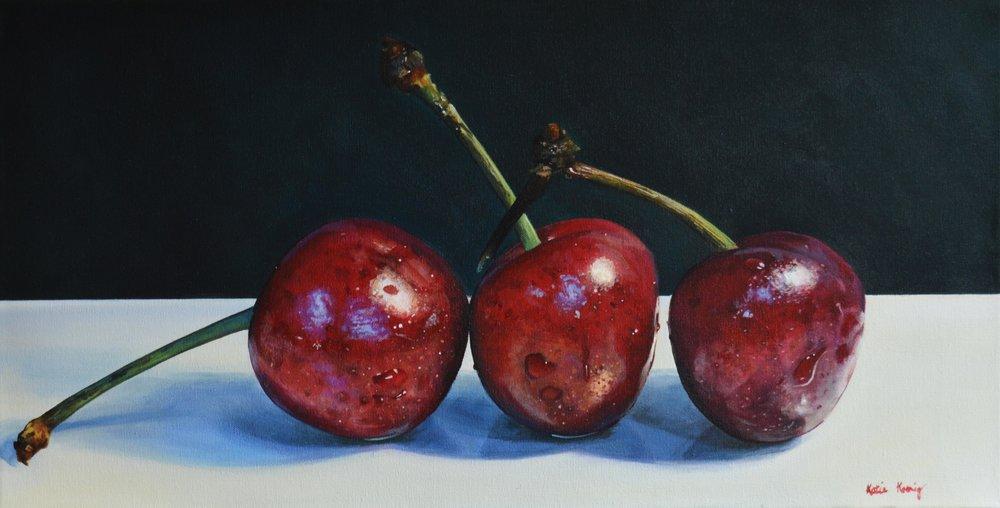 Crisscrossed Cherries