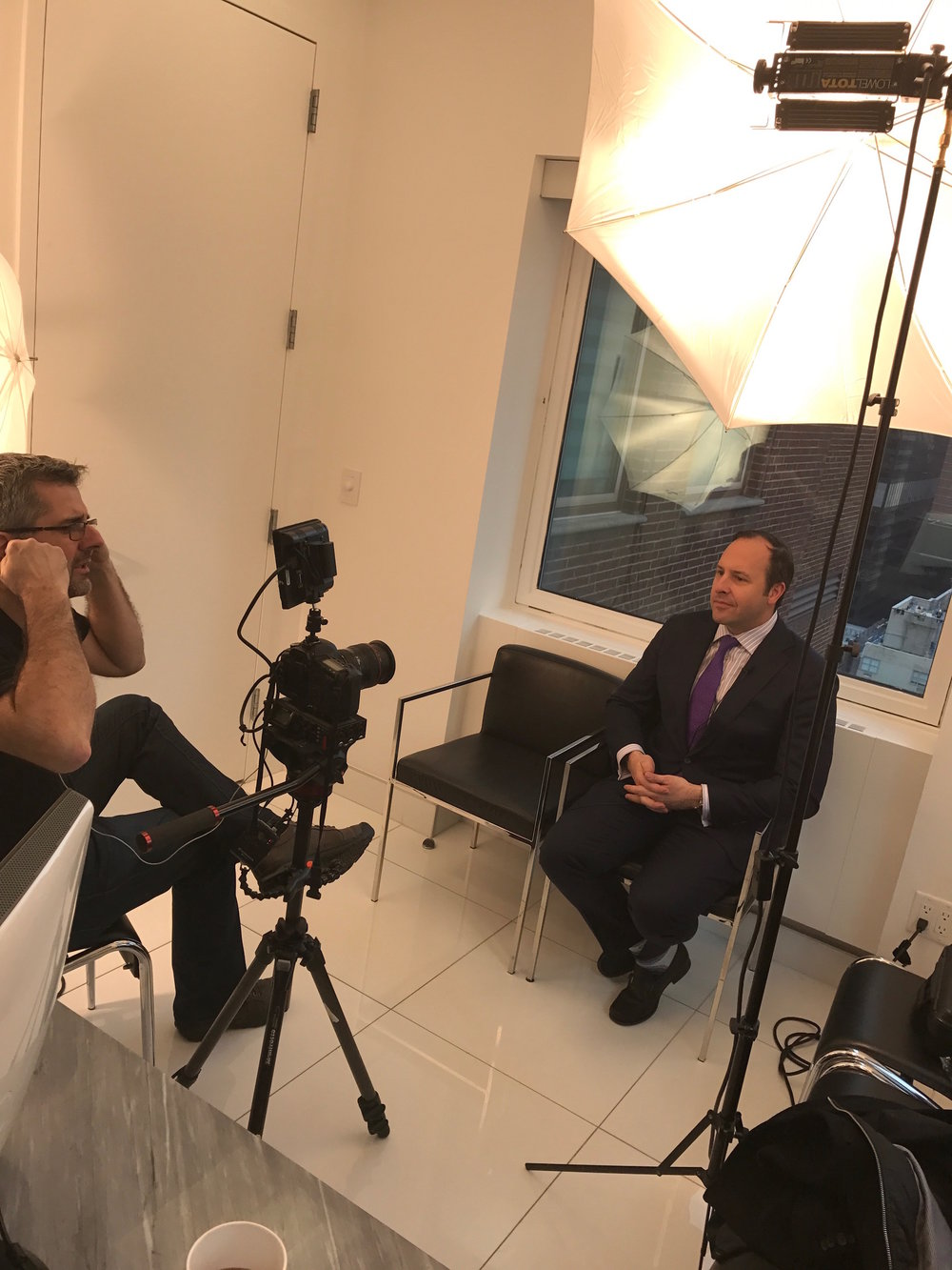 Dr. Zuckerman's Mommy Makeover plastic surgery video feature in progress.