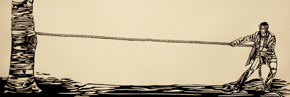 """Tension of Two Living Things"" 