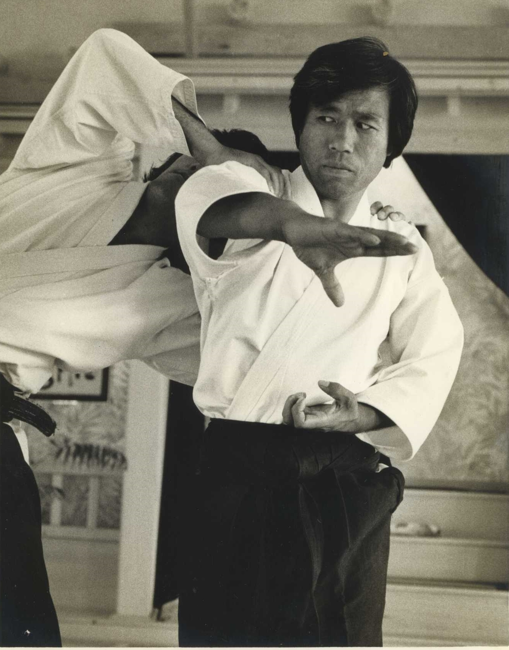 Saotome Shihan with Ikeda Shihan as uke in Sarasota, FL