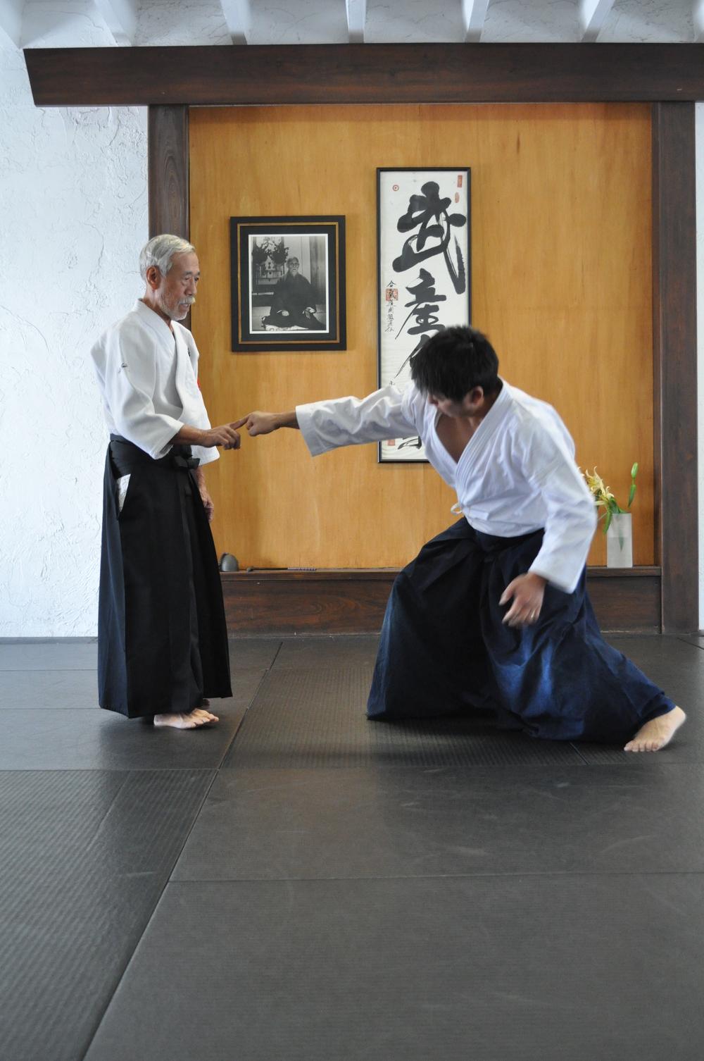 Mitsugi Satome Shihan - Aikido Sarasota
