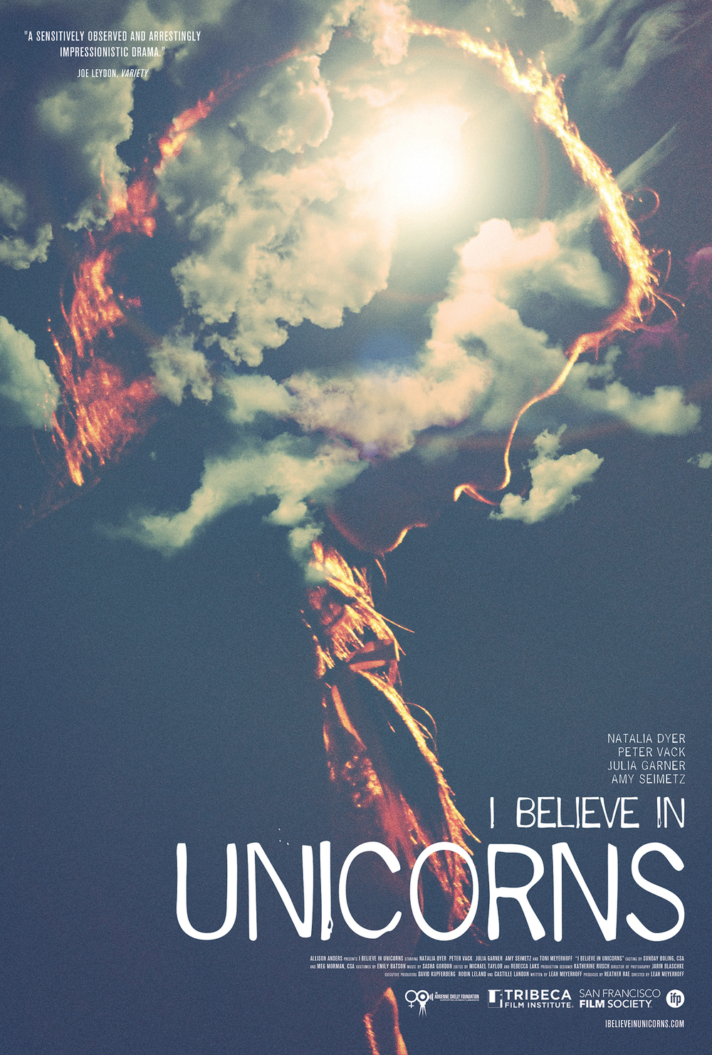 """I Believe in Unicorns"" Official Poster"