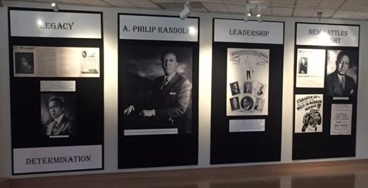 A. Philip Randolph Pullman Porter Exhibit