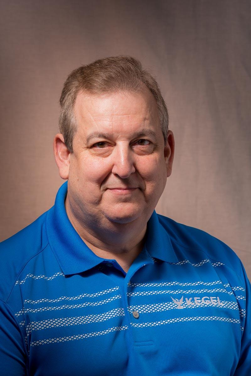 Coach Rick Wiltse