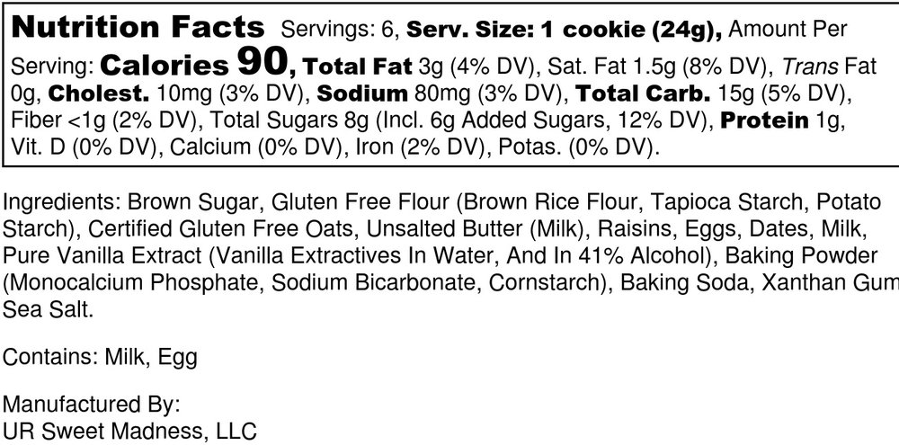 Oatmeal Cookie - Nutrition Label.jpg