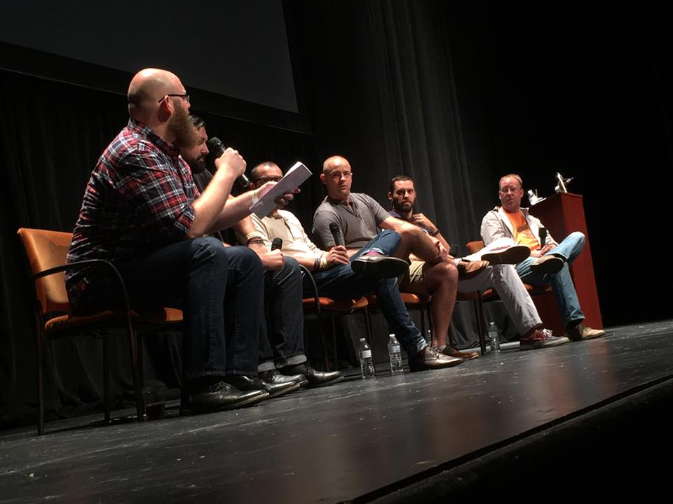 """VIEWING CLEVELAND'S CREATIVE PROCESS THROUGH A LENS"" Panel this year. Photo By George Michaels."